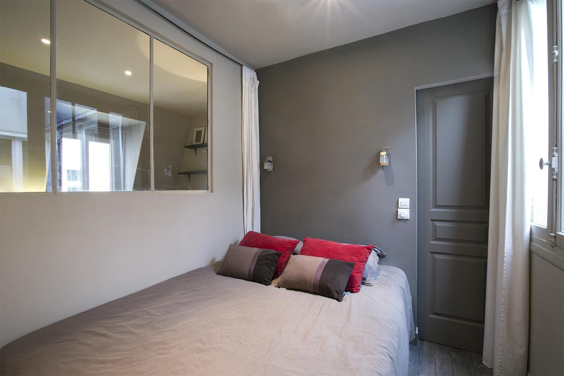 Platre chambre affordable awesome dicor placo platre for Chambre flat design