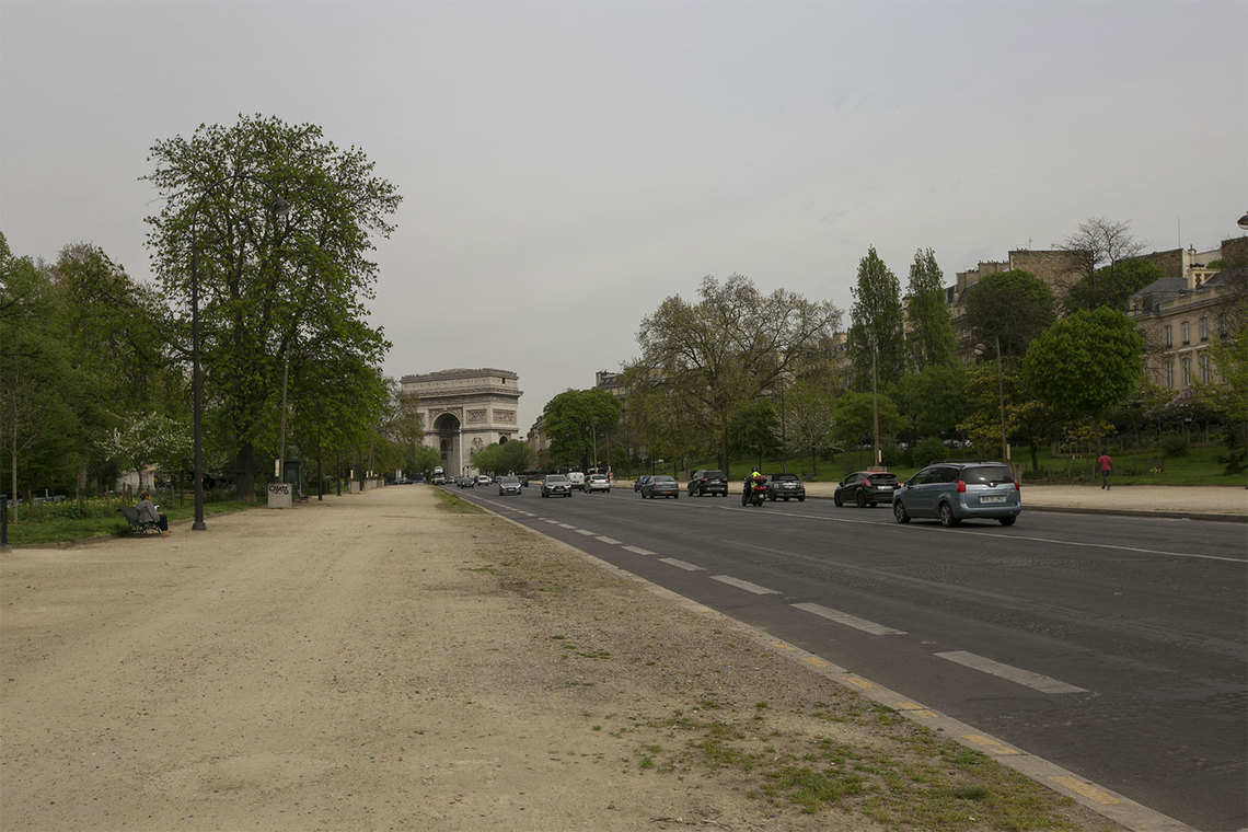 Квартира Paris Avenue Foch 19