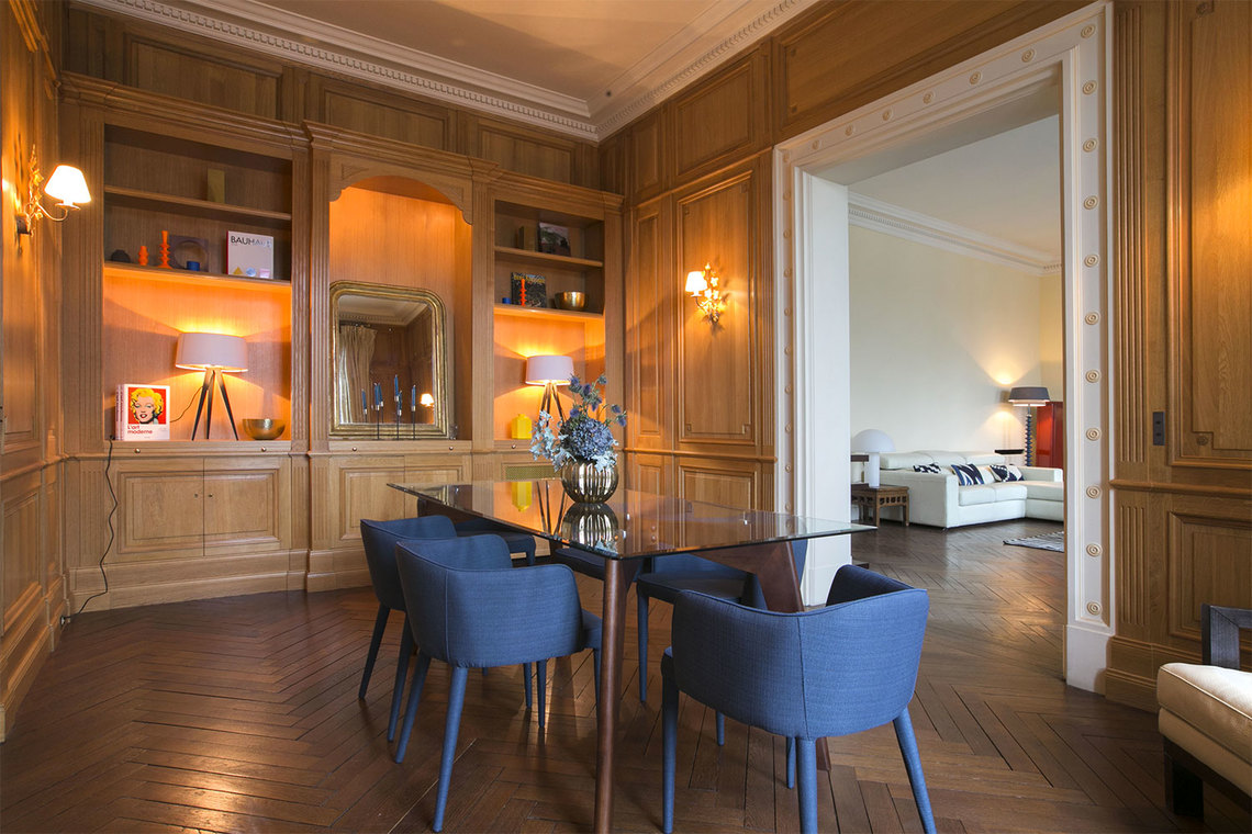 Apartment Paris Quai Anatole France 5