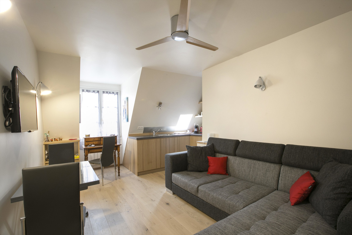 Furnished apartment for rent Paris Rue Saint Lazare