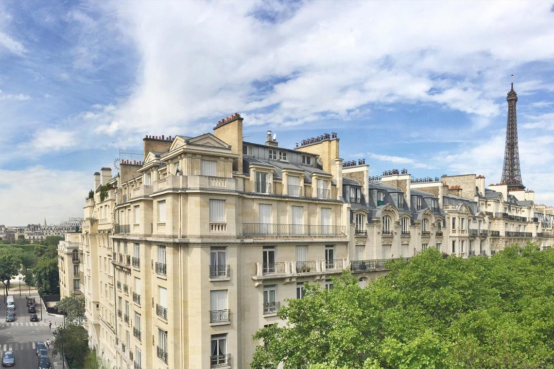 Appartement Paris Avenue de la Bourdonnais 14