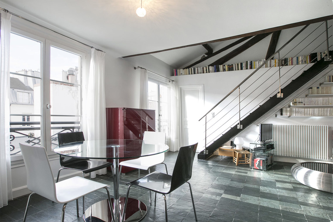 Furnished apartment for rent Paris Rue du Sabot