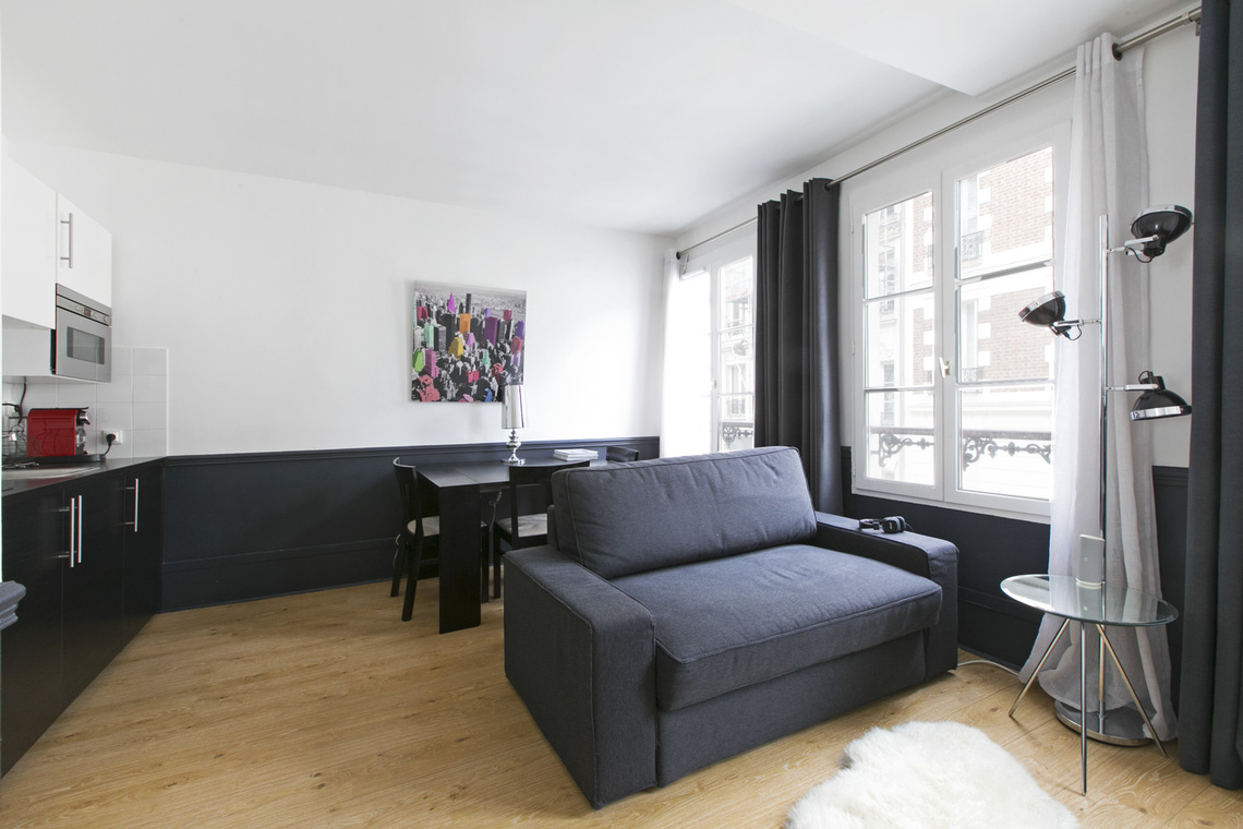 Furnished apartment for rent Paris Rue Bosquet
