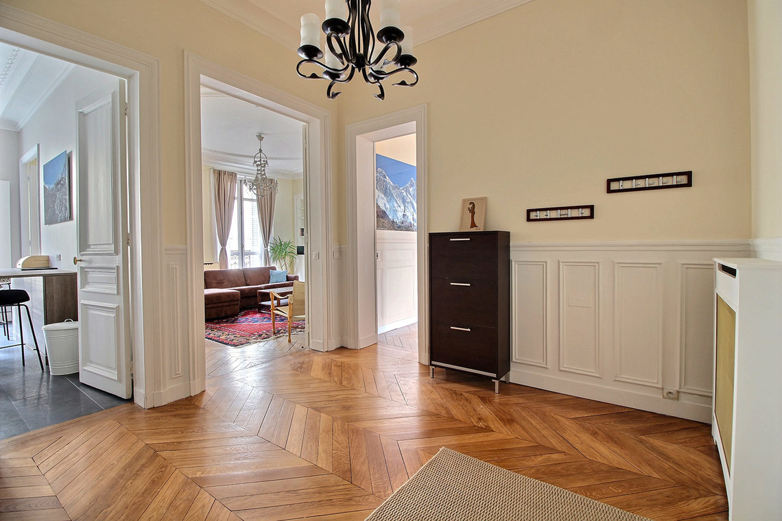 Квартира Paris Rue Claude Bernard 12