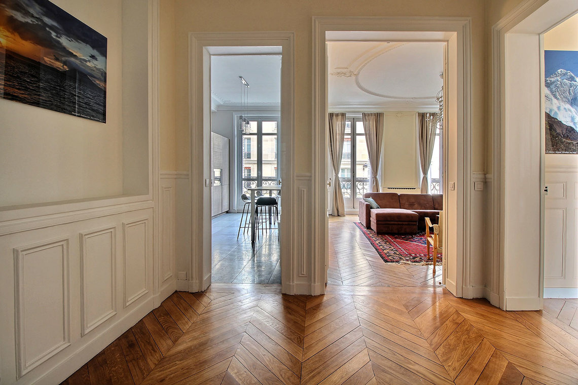 Квартира Paris Rue Claude Bernard 11