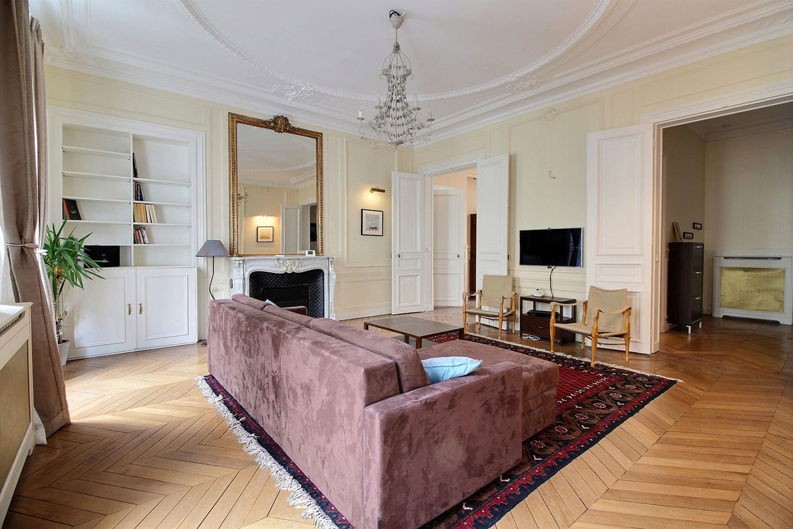 Квартира Paris Rue Claude Bernard 2