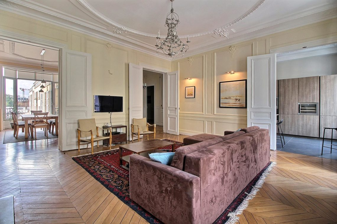 Квартира Paris Rue Claude Bernard 4