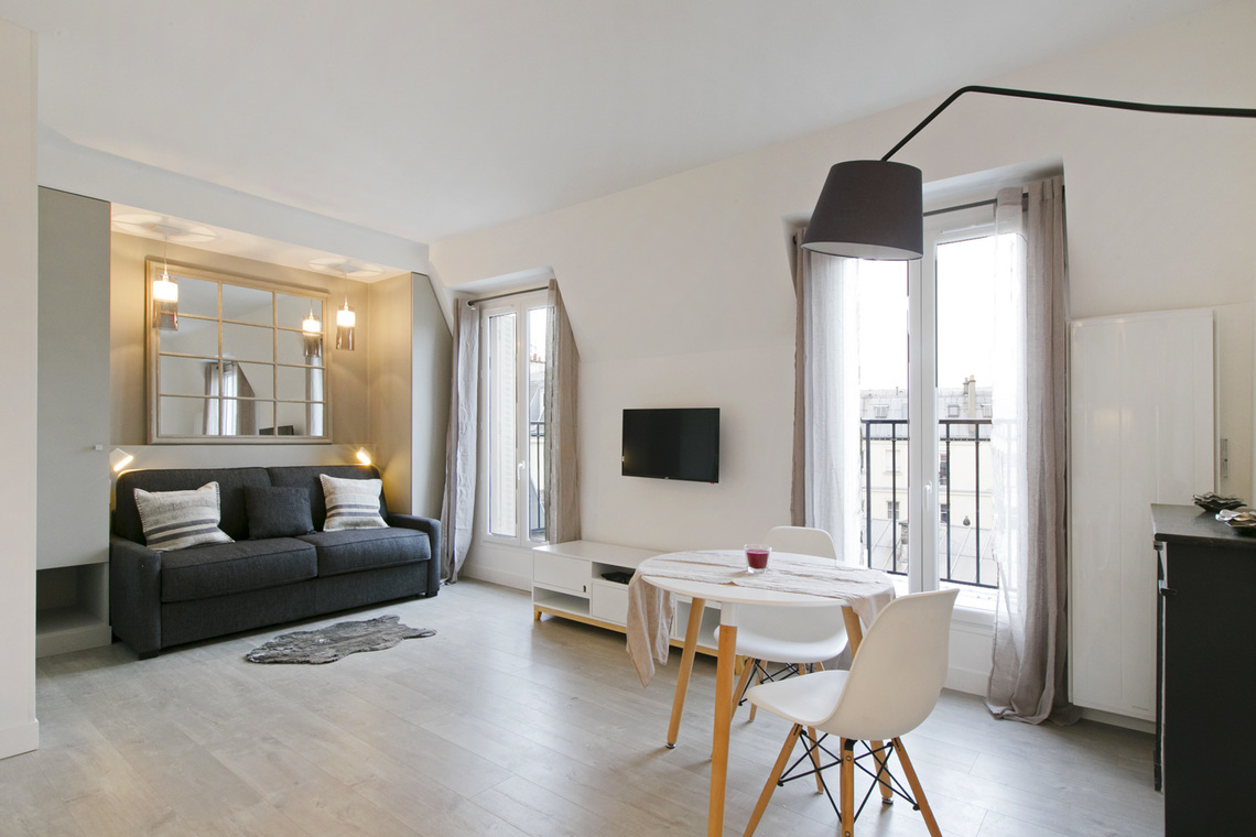 Furnished apartment for rent Paris Rue du General Foy