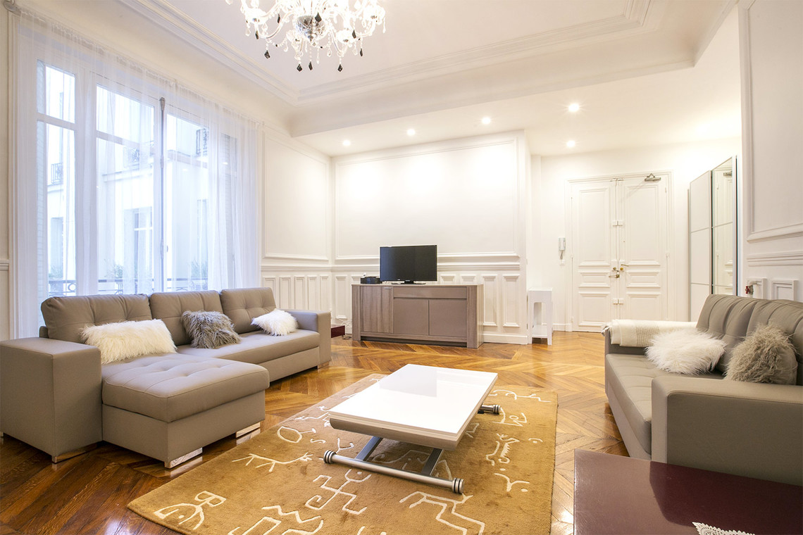 Furnished apartment for rent Paris Rue Meissonier