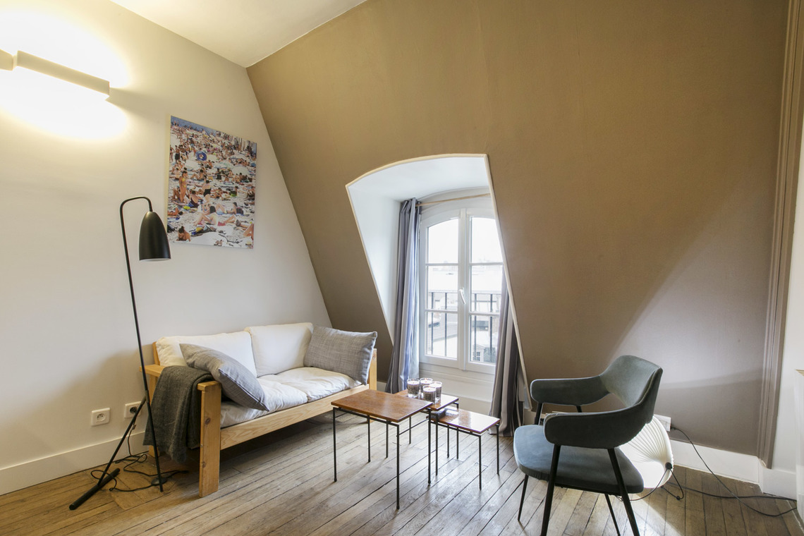 Furnished apartment for rent Paris Rue Galilée