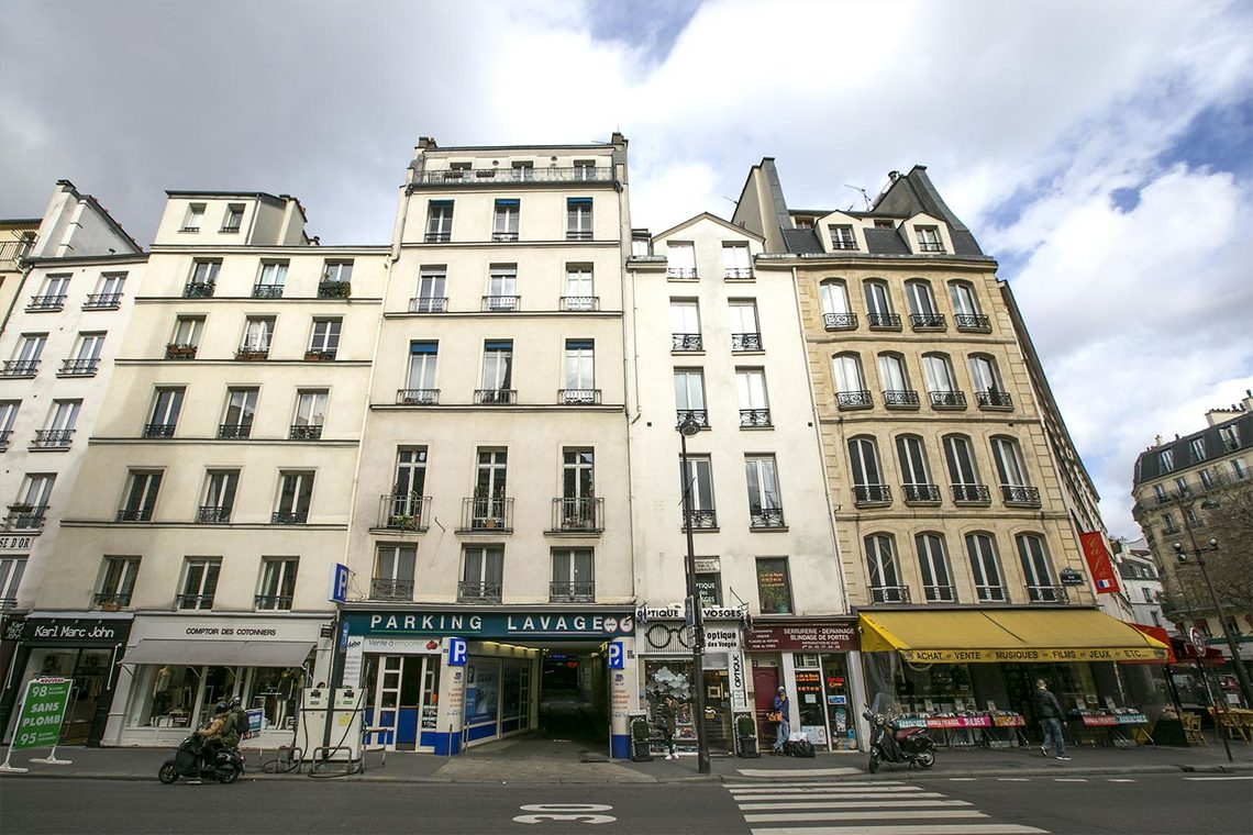 Квартира Paris Rue Saint Antoine 14