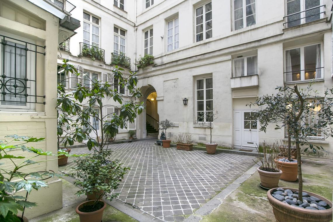 Appartement Paris Rue Jean-Jacques Rousseau 11