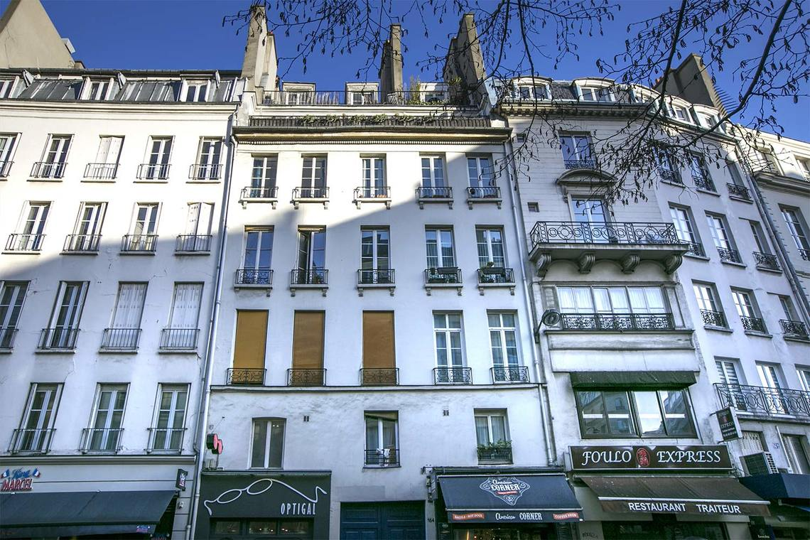 Appartement Paris Rue Montmartre 11
