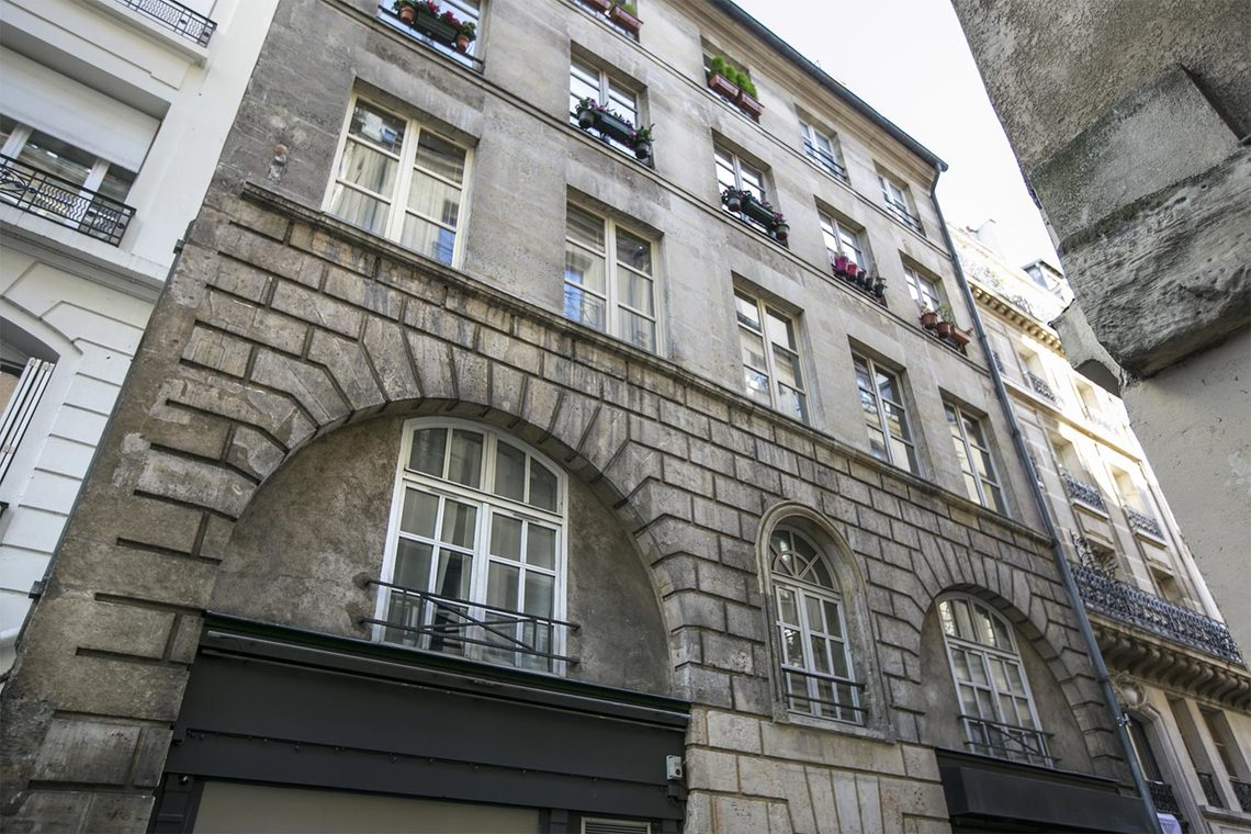 Appartement Paris Rue Simon le Franc 14