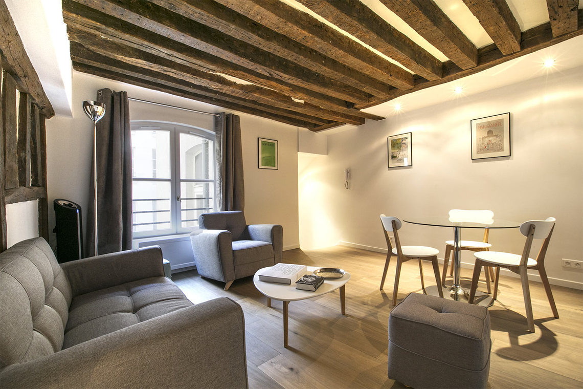 Furnished apartment for rent Paris Rue Simon le Franc