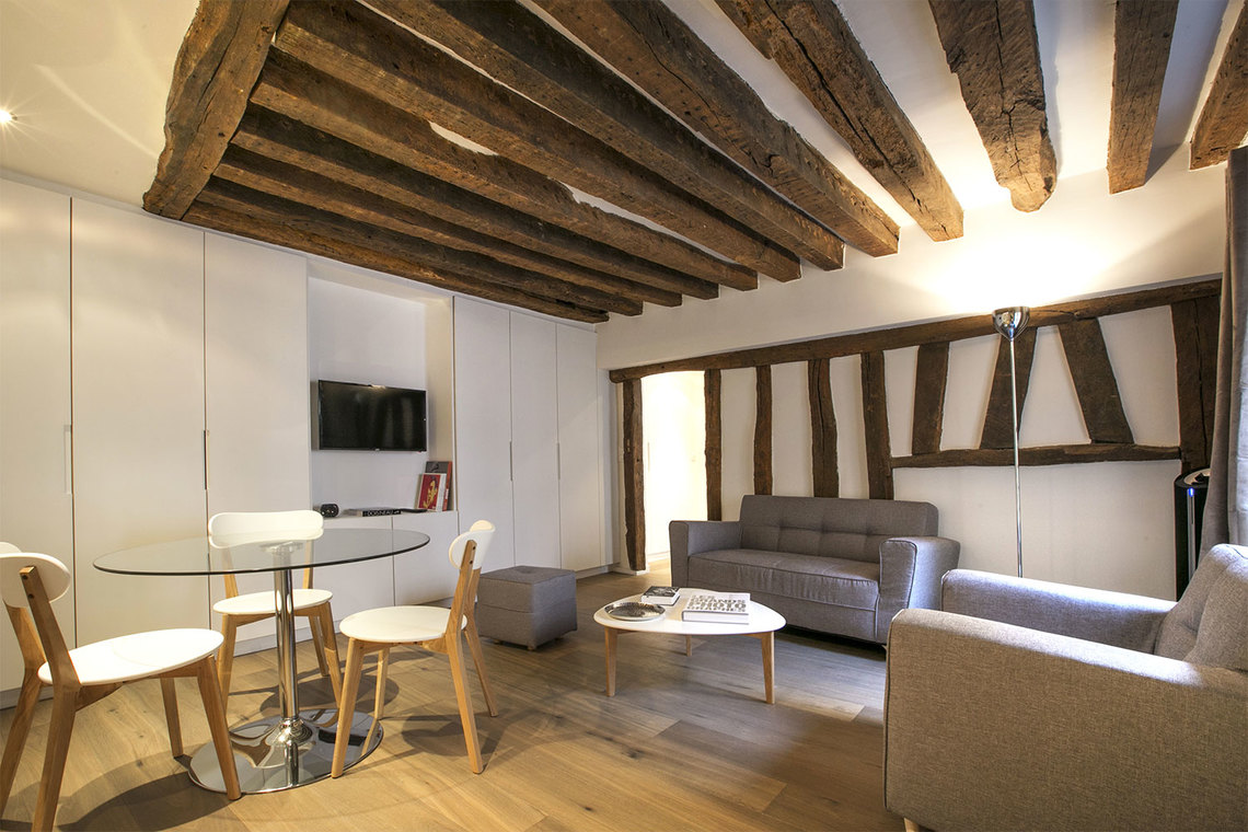 Paris Rue Simon le Franc Apartment for rent