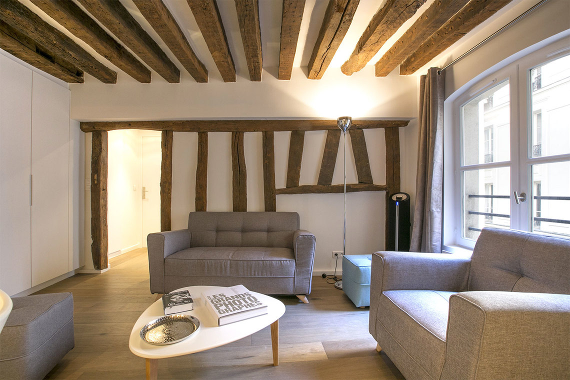 Appartement Paris Rue Simon le Franc 2