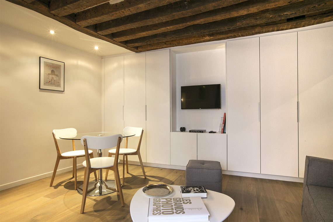 Appartement Paris Rue Simon le Franc 4