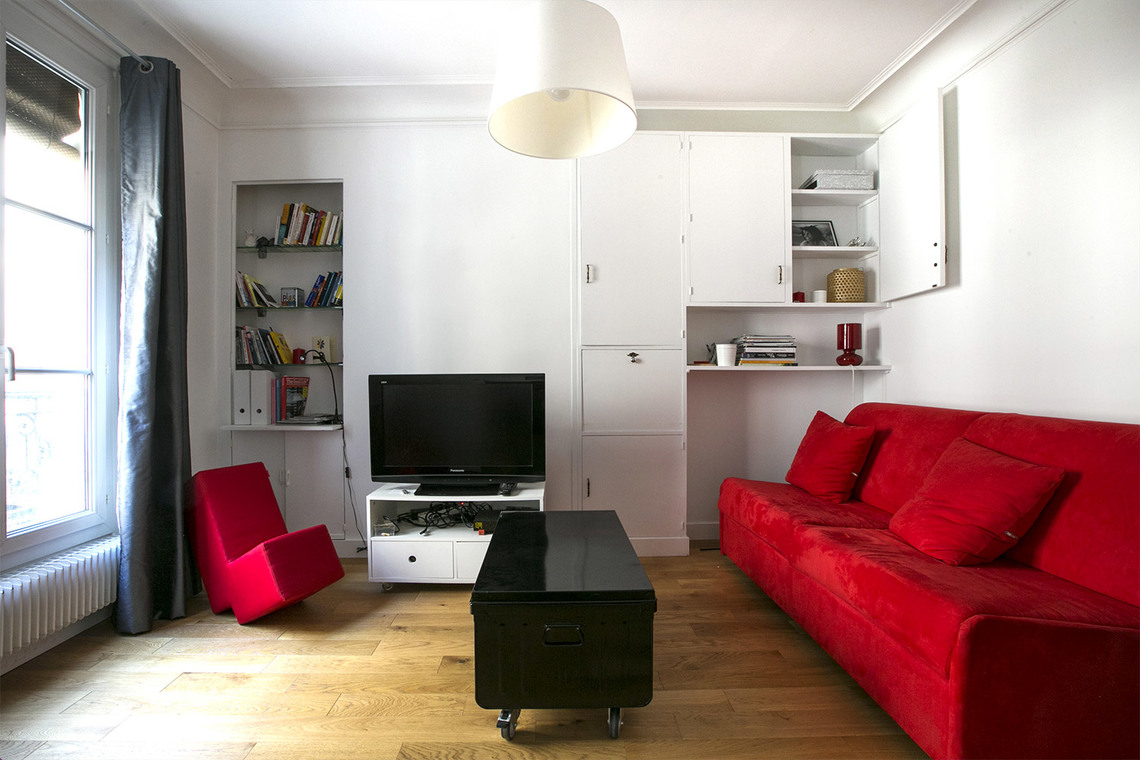 Furnished apartment for rent Paris Rue Troyon