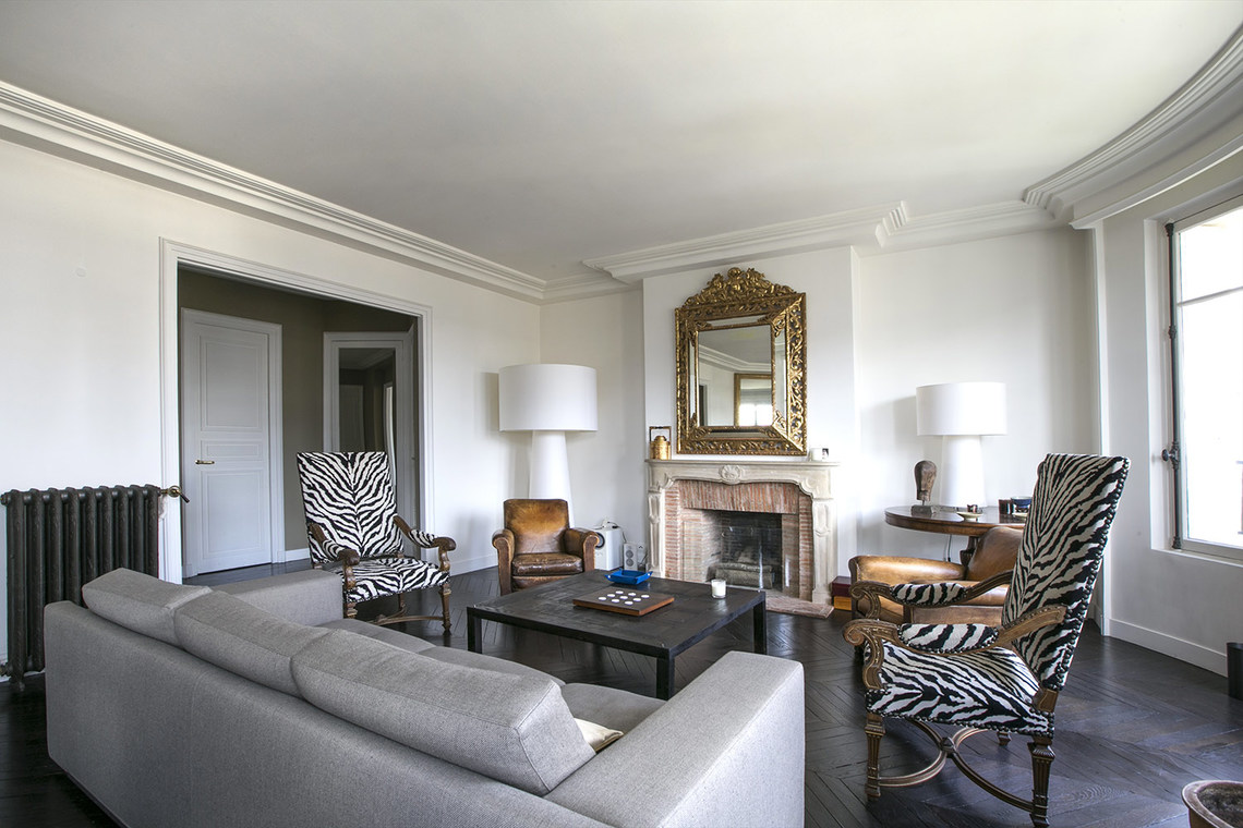 Furnished apartment for rent Paris Avenue Charles Floquet