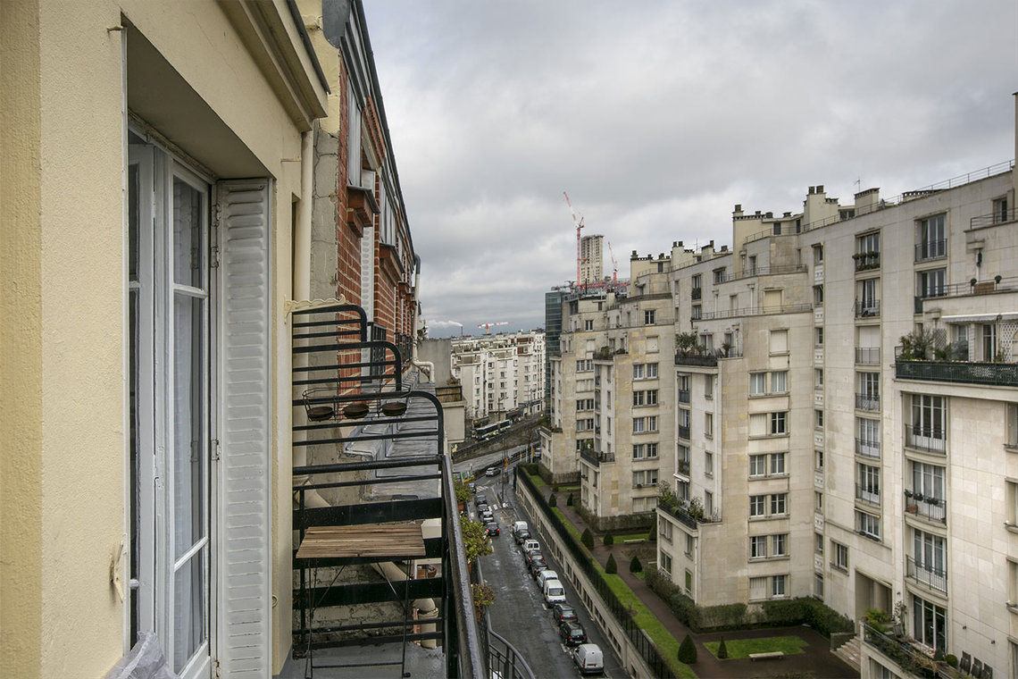 Appartement Paris Rue Verniquet 12