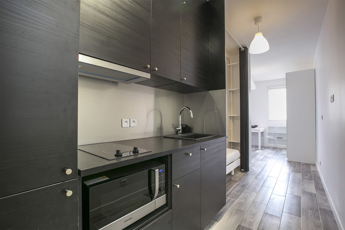 Appartement Paris Rue Verniquet 6