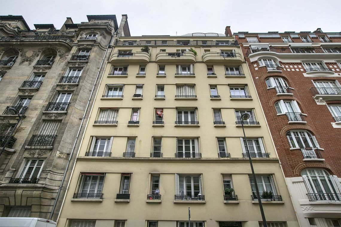Appartement Paris Rue Verniquet 13