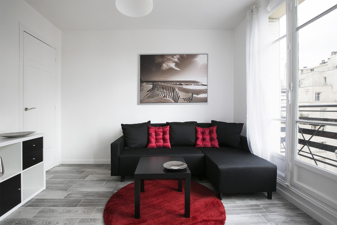 Paris Rue Verniquet Apartment for rent