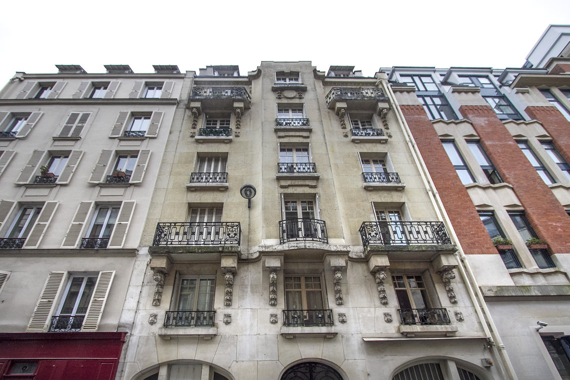 Apartment Paris Rue Laugier 16