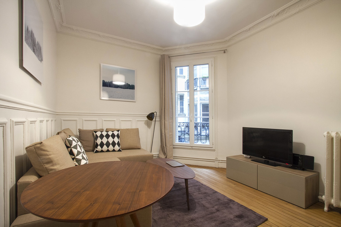 Furnished apartment for rent Paris Rue Laugier