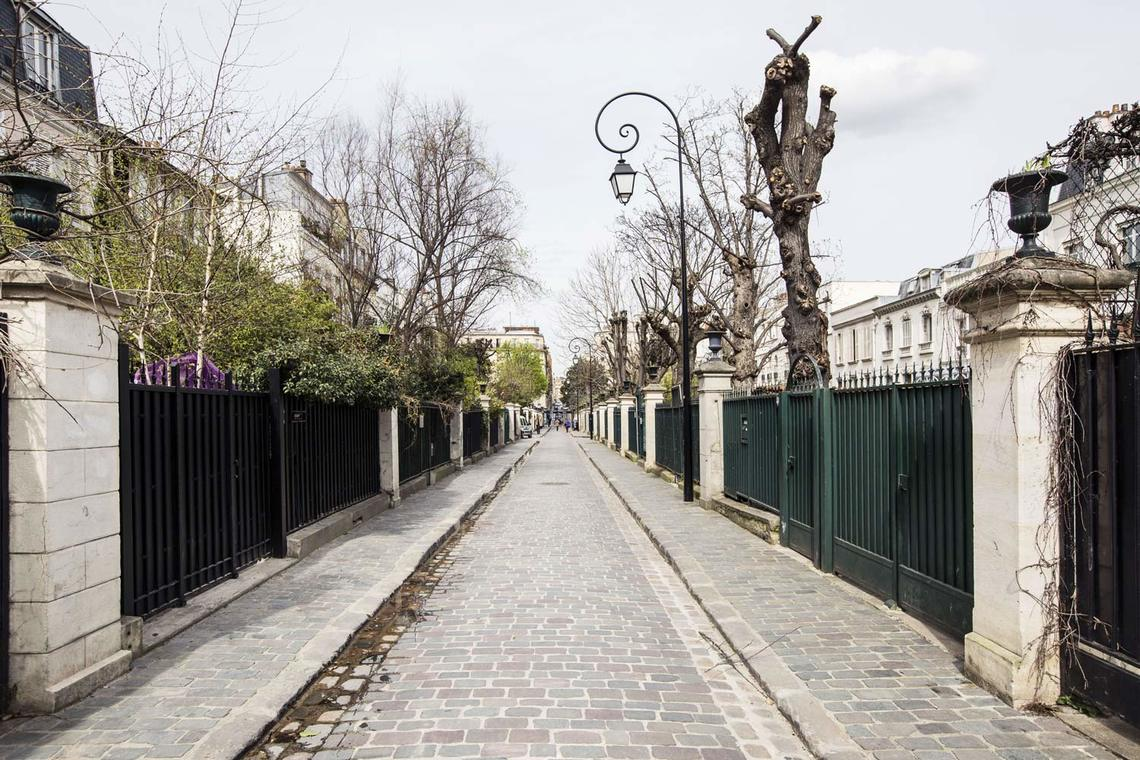 Квартира Paris Rue Gilbert Cesbron 18