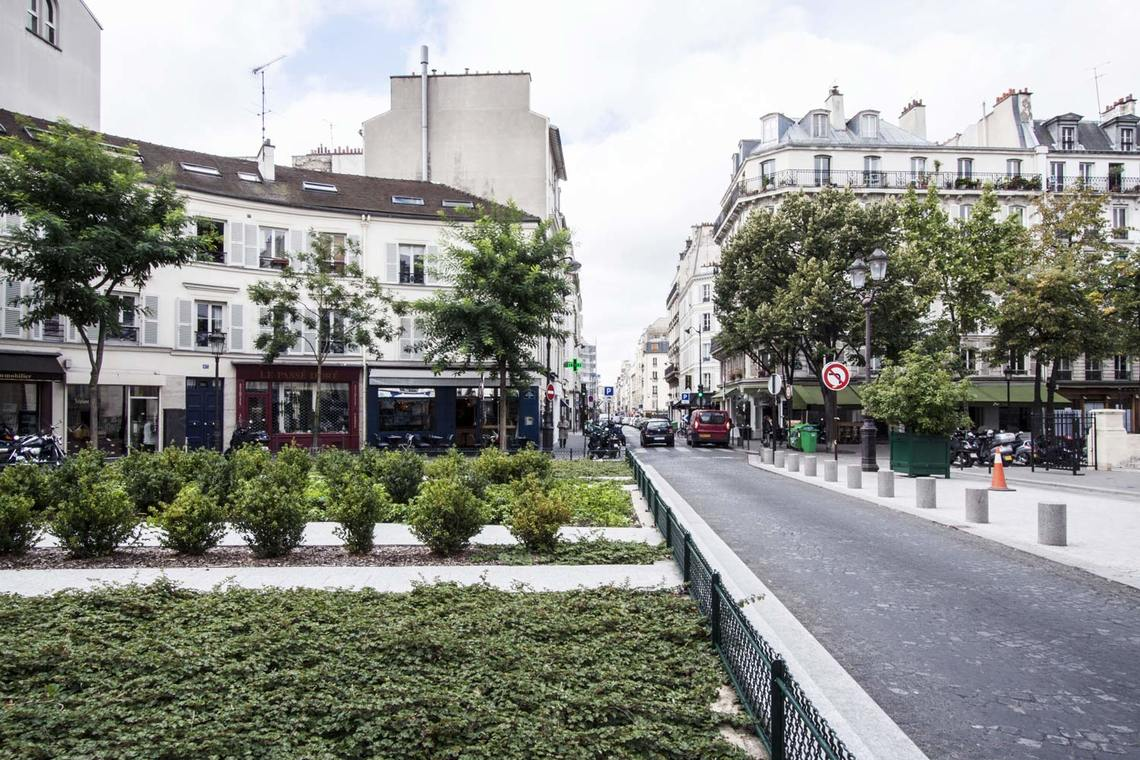 Квартира Paris Rue Gilbert Cesbron 19