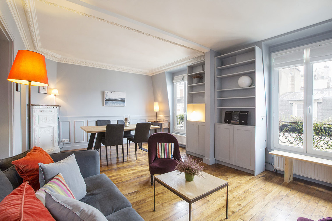 Furnished apartment for rent Paris Rue Fourcade
