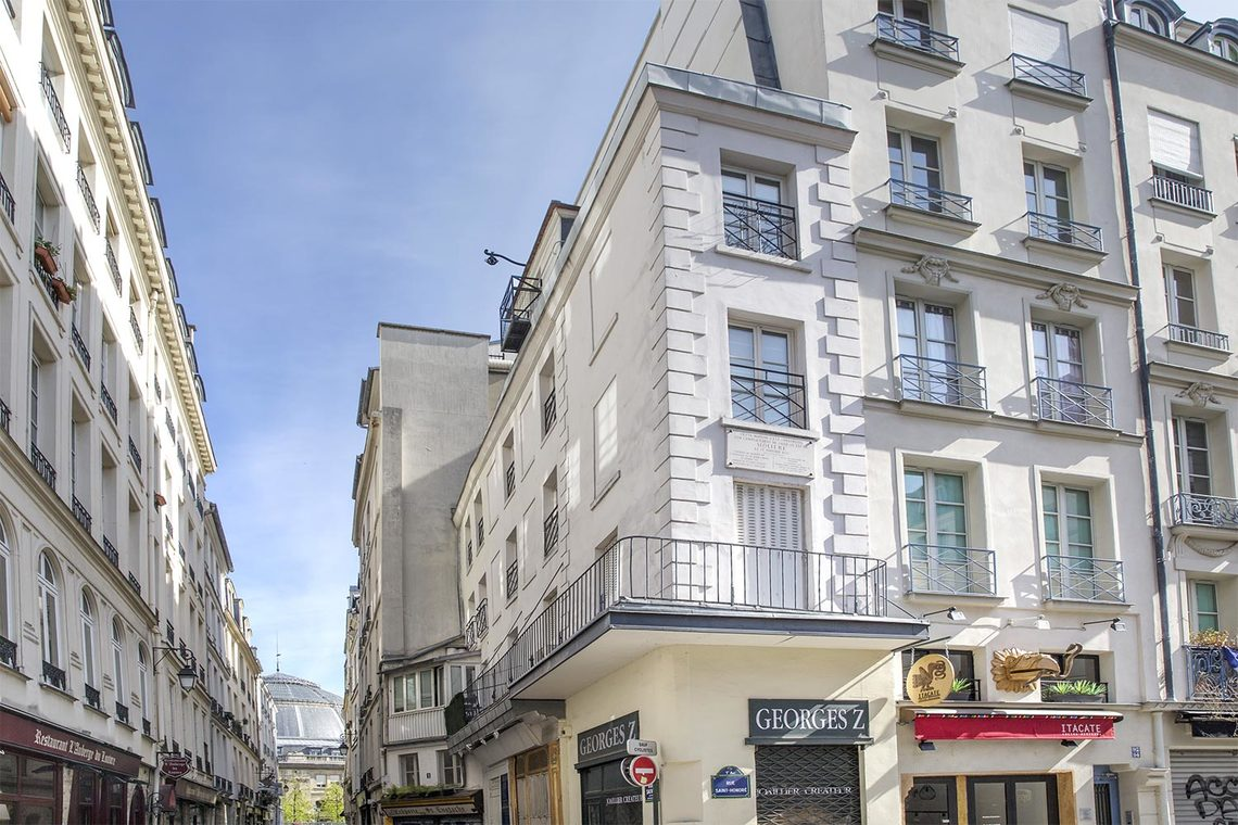 Appartement Paris Rue Sauval 9