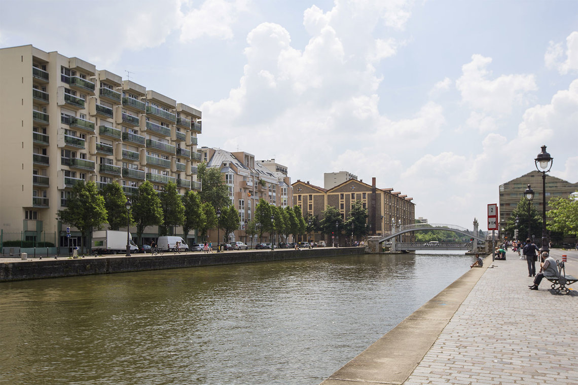 Appartement Paris Quai de l'Oise 14