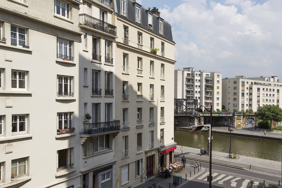 Appartement Paris Quai de l'Oise 11