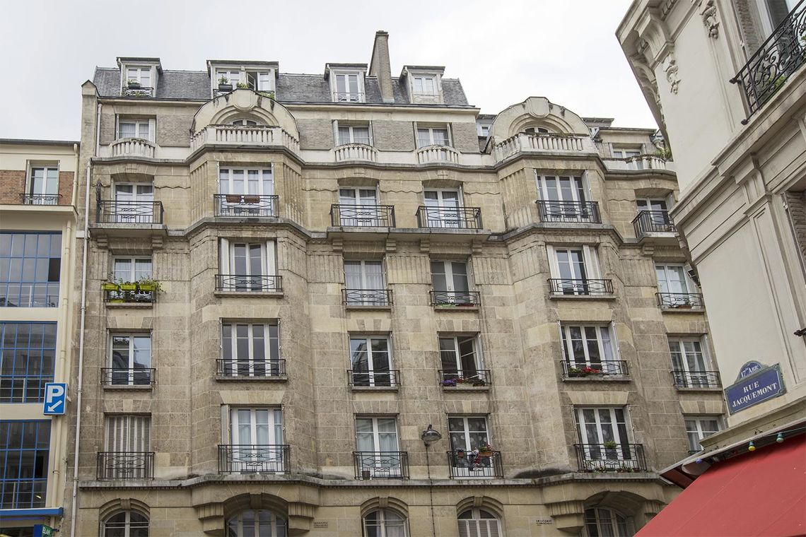 Appartement Paris Rue Lemercier 9