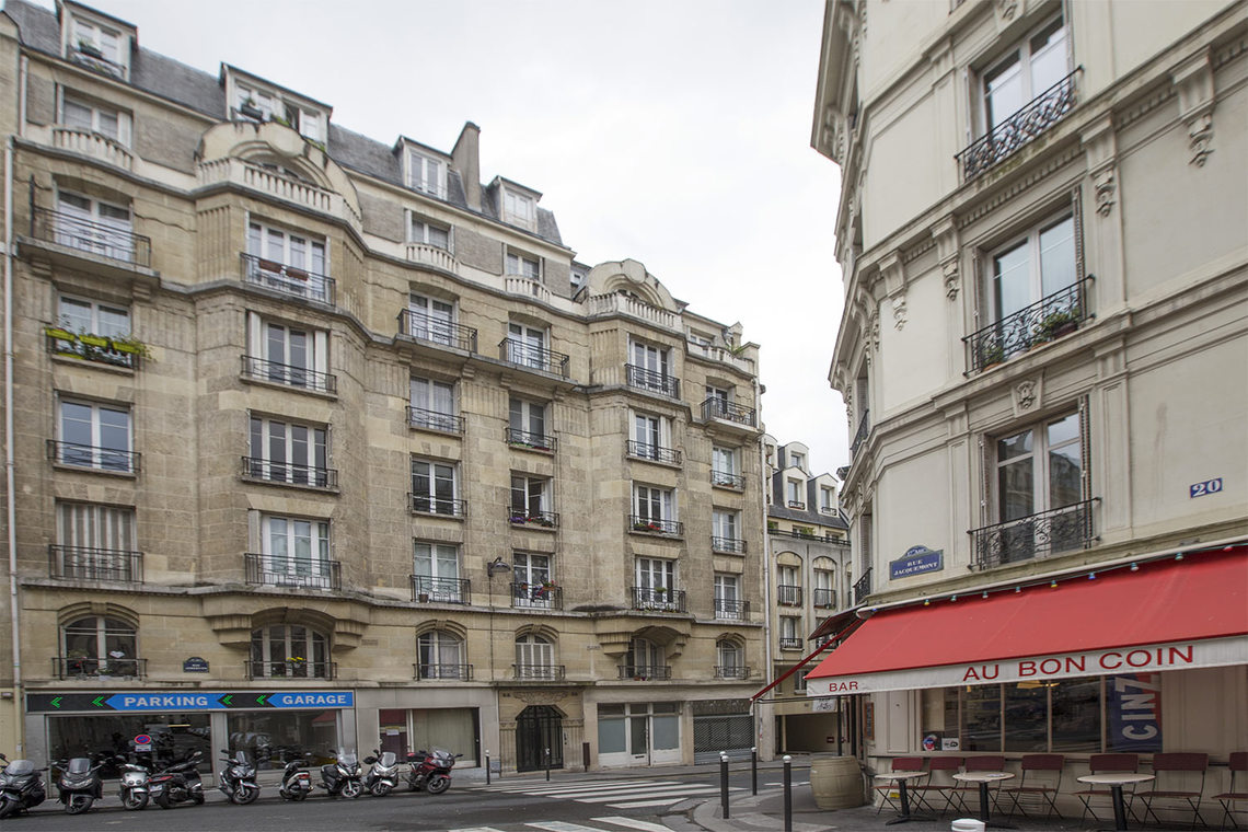 Appartement Paris Rue Lemercier 10