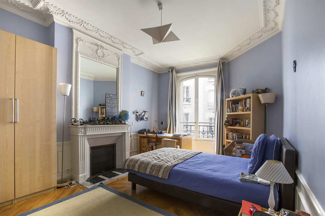 Appartement Paris Rue Spontini 15