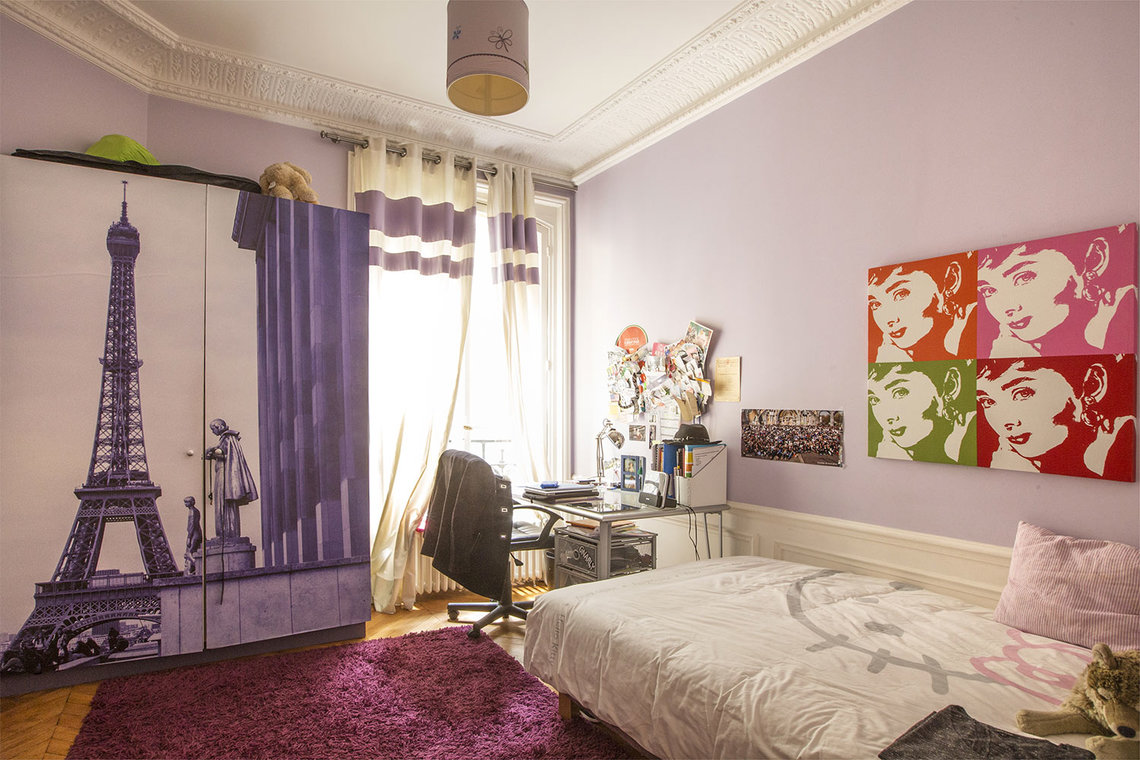 Appartement Paris Rue Spontini 19