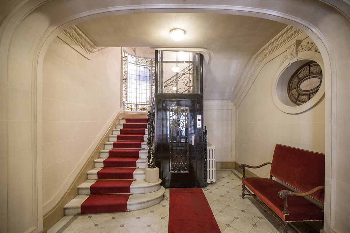 Appartement Paris Rue Spontini 21