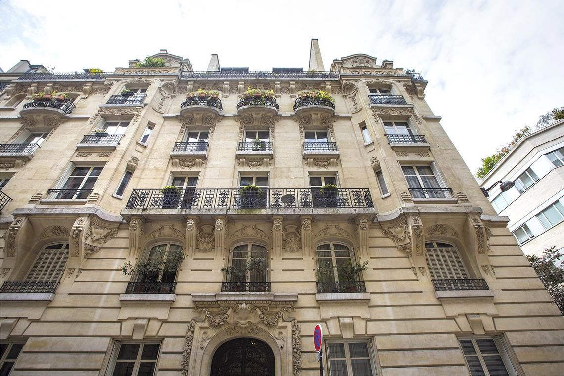 Appartement Paris Rue Spontini 22