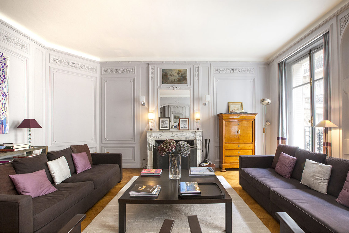 Appartement Paris Rue Spontini 2
