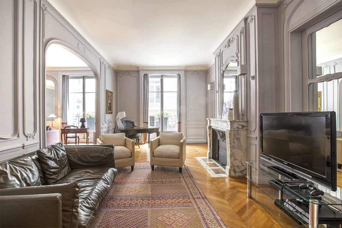 Appartement Paris Rue Spontini 4