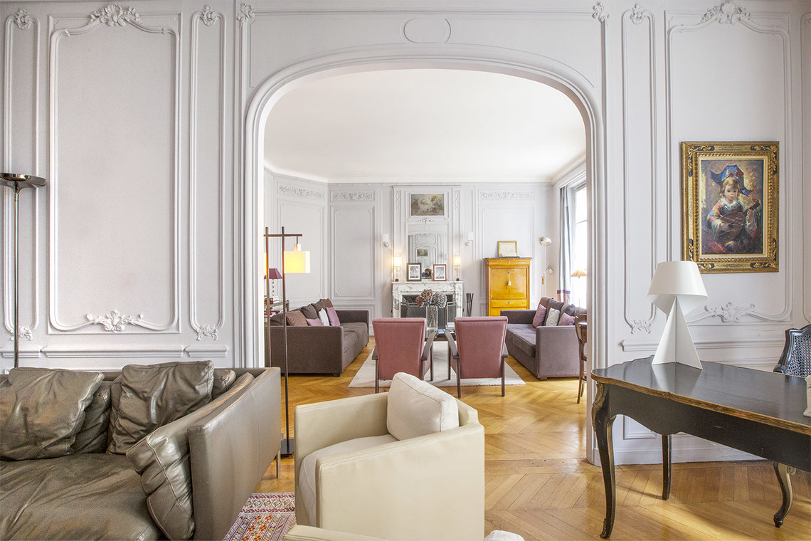 Appartement Paris Rue Spontini 5