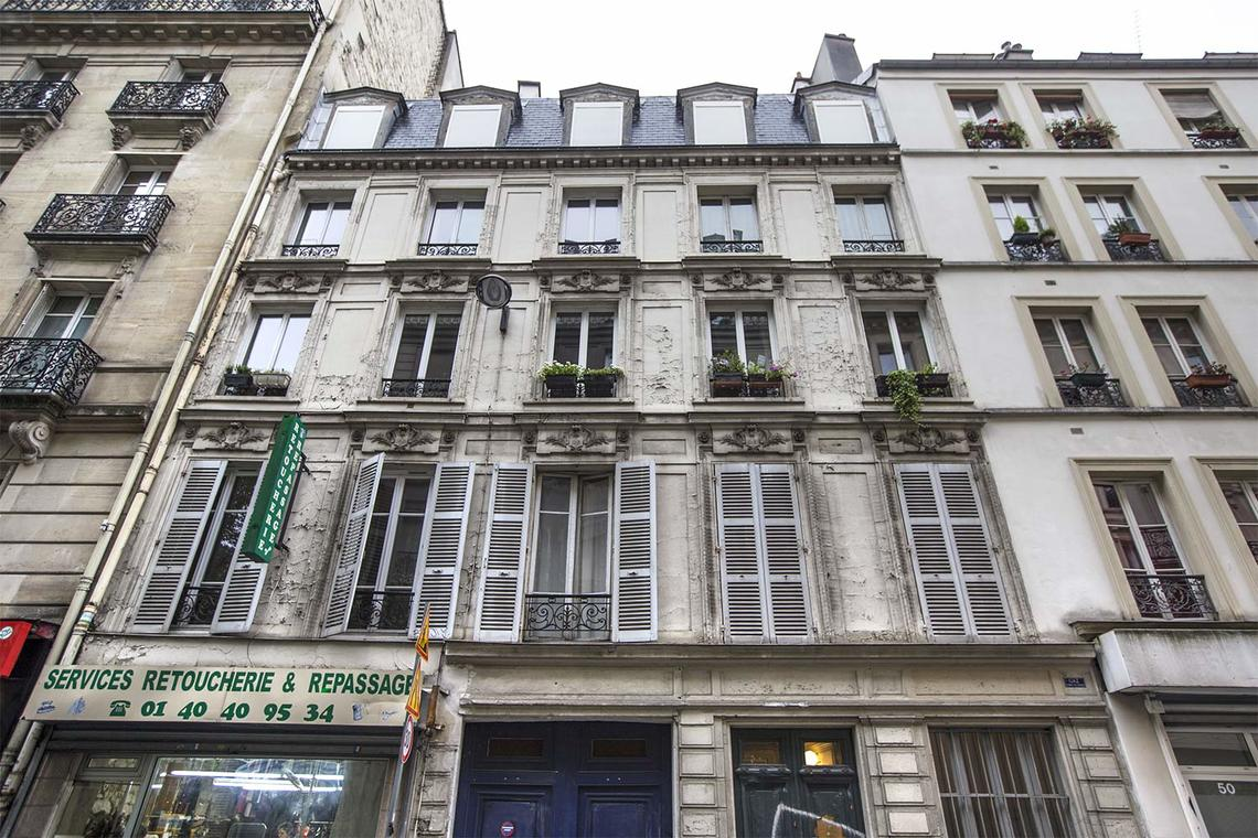Квартира Paris Rue Albert Thomas 16