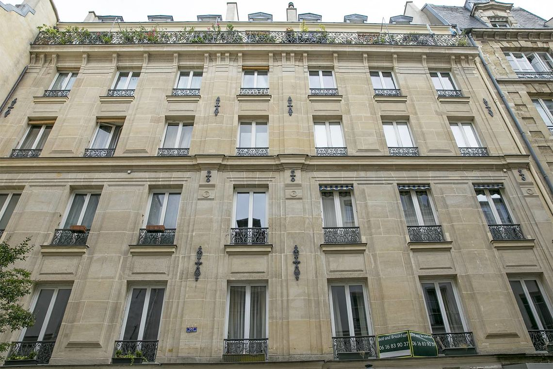 Apartment Paris Rue des Rosiers 11
