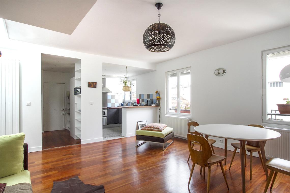 location appartement meubl rue des fontaines du temple paris ref 13604. Black Bedroom Furniture Sets. Home Design Ideas