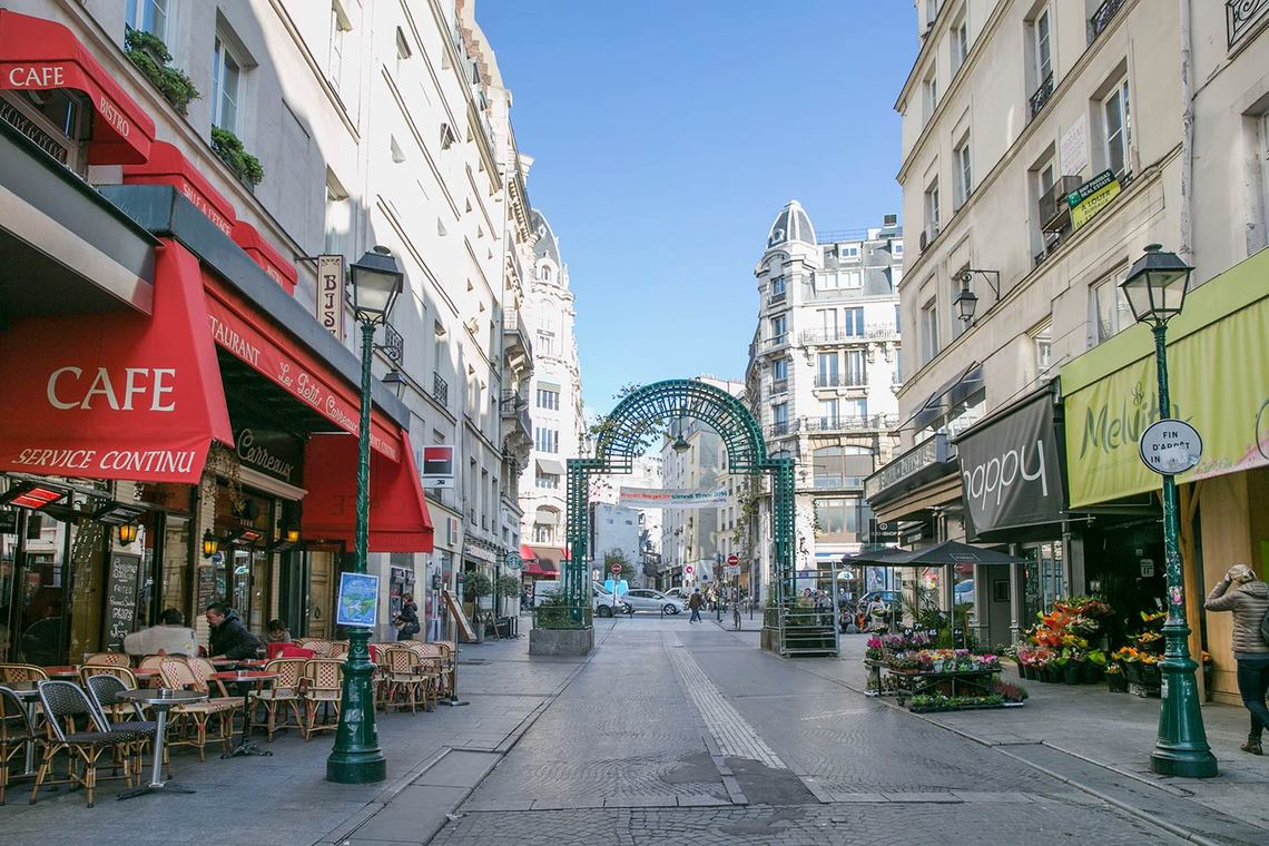 Квартира Paris Rue d'Aboukir 15