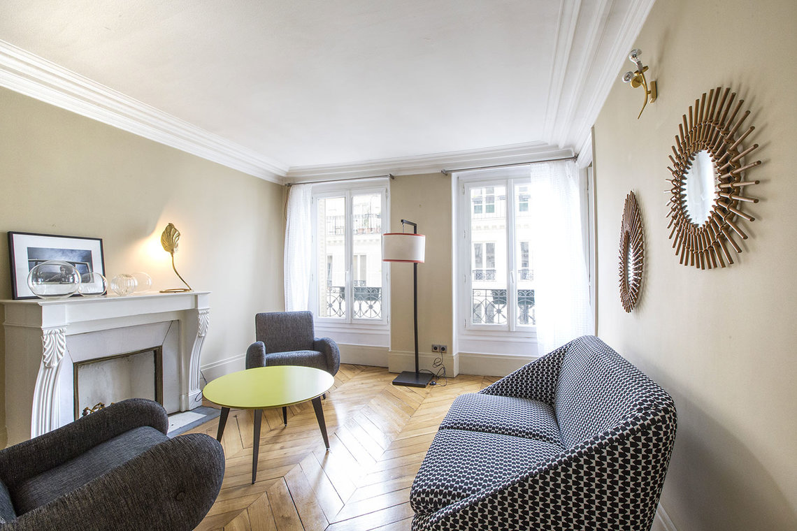 Paris Rue Henner Apartment for rent